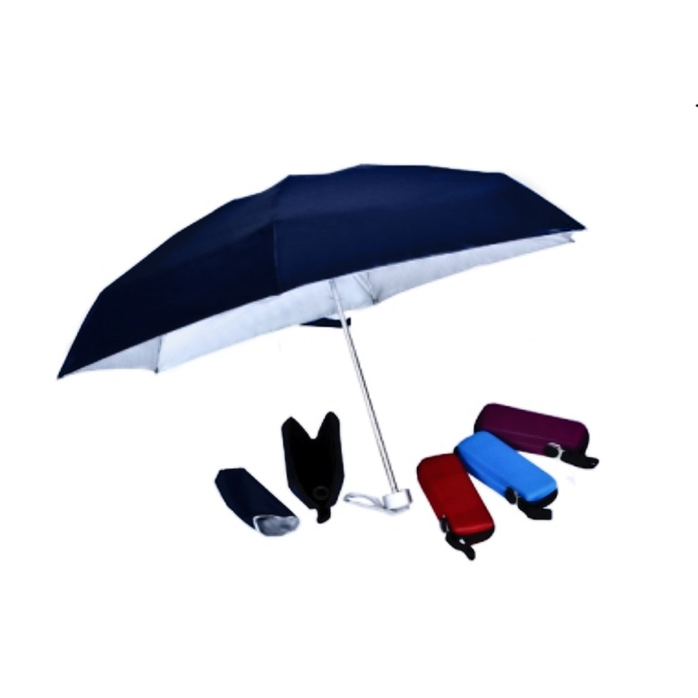 "5 fold extra light Umbrella with Capsule Pouch (21"")"