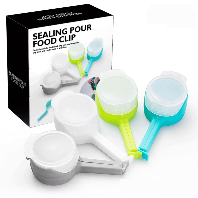 Food Bag Clip with Pourer