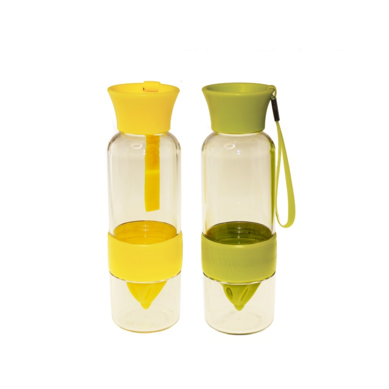 Fruit infuser water bottle - (520ml)