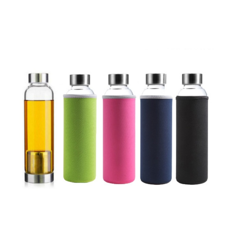Glass Bottle with Tea Brewer (380ml)