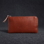 Italian Vegetable Tanned Leather Key Case