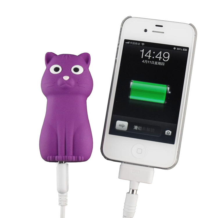 Kitten shaped Power Bank (2800 mAh)