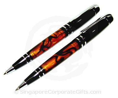 Metal Ballpen With Marbel Shaft