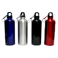 Aluminium Water Bottle with Carabiner