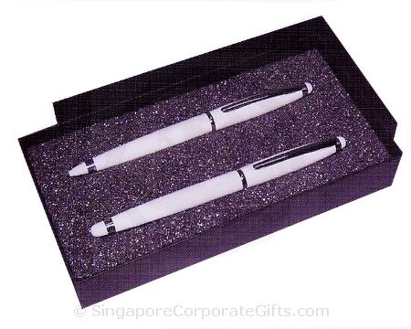 Ball Pen And Roller Ball Pen With Box