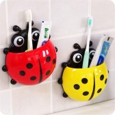 Ladybug Kids Toothbrush Holder