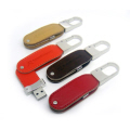 Designer's Leather Thumbdrive with Carabiner P026(Trek PCBA 4G)