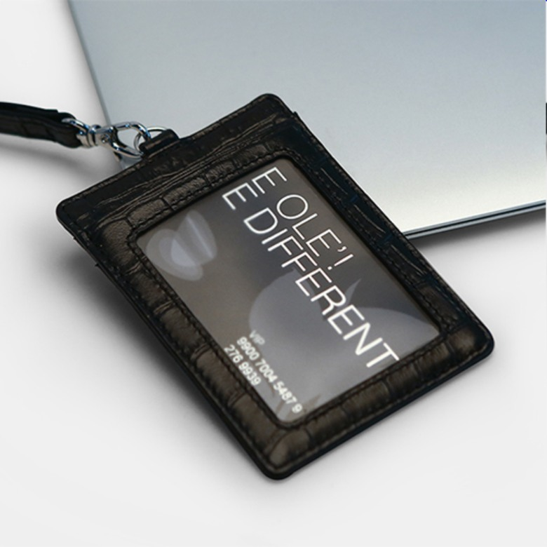 Genuine Leather ID Card Holder