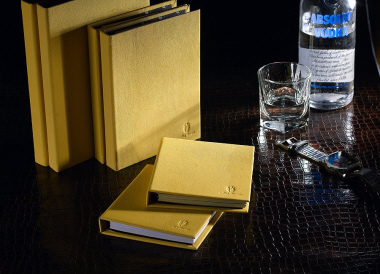 Alef Design Leather Note Book - Delice Marco