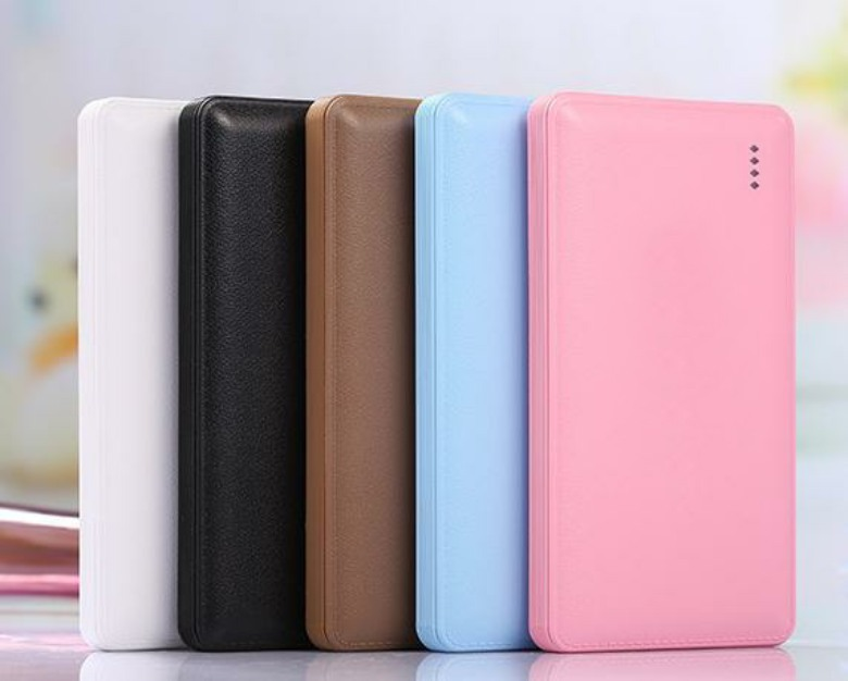 Leather Finish Power Bank 5 (8000mAh)