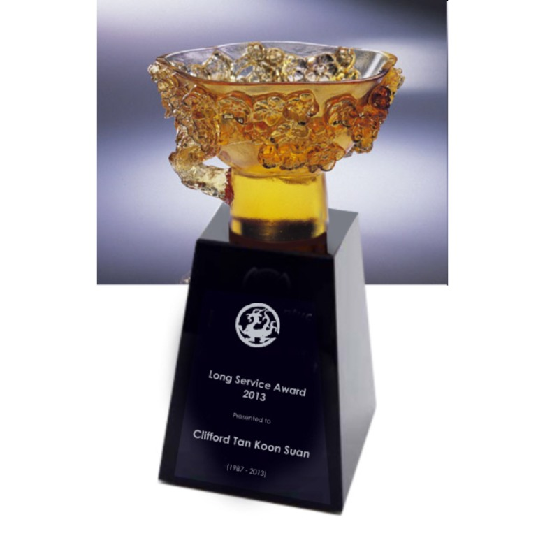 Liuli Trophy - Joy and Celebration Cup (Origina Design)