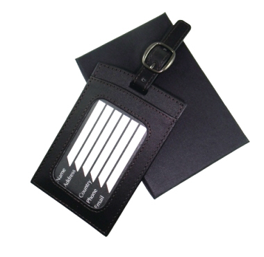 Nappa PU Luggage Tag
