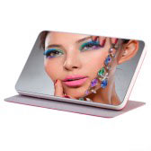 Leather Makeup Mirror Bank (10000mAh)