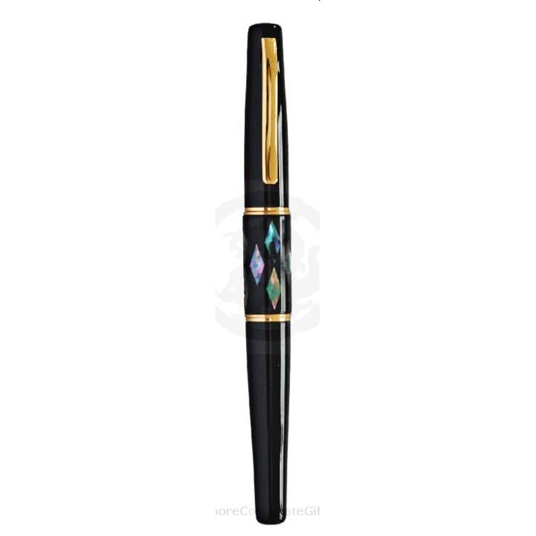 Exclusive Metal Pen with Shell Motif 1 (Ball Pen)