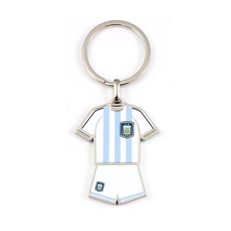 Metal T-shirt Keychain