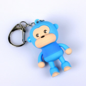 Cute Monkey LED Keychain with Voice