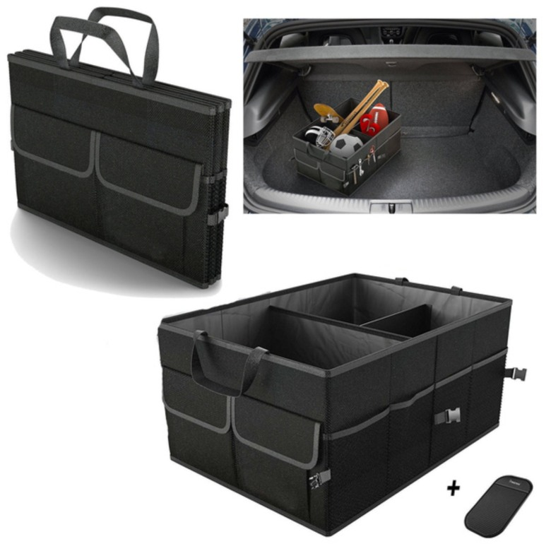 Multipurpose collapsible storage for car