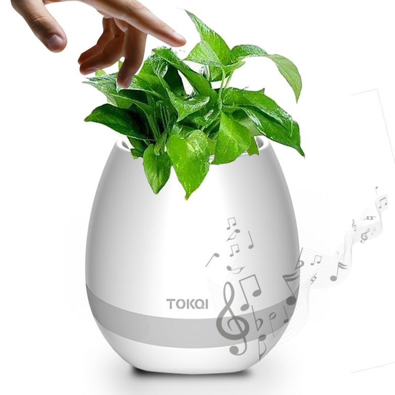 Touch Sensor Bluetooth Music Flowerpot