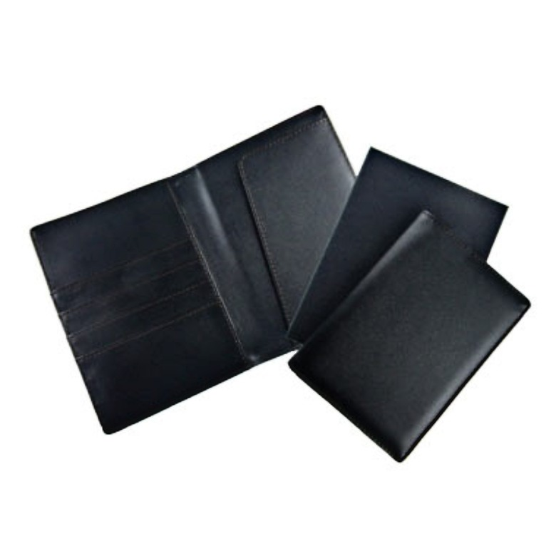 Nappa PU Passport Holder