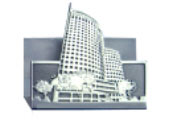 Customised Pewter Namecard Holder(Building)