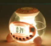 Natural sound Lamp with clock