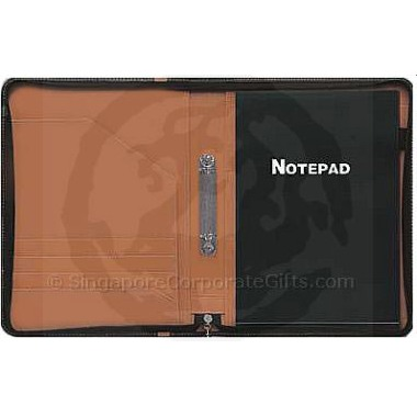 A4 Folder with Note Pad, Zipper and 2 Ring 5