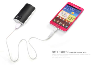 Power Bank with Light (5200 mAh)