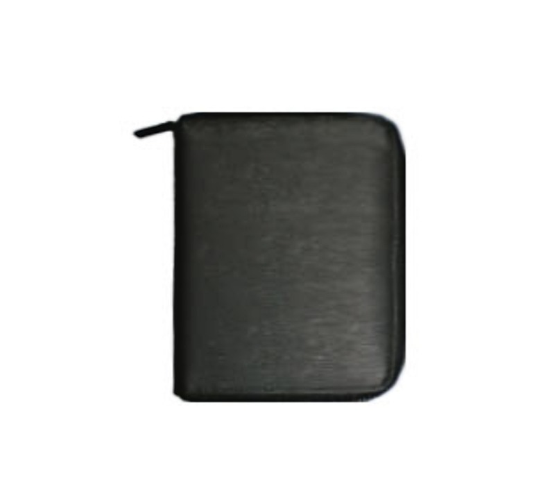 Leather Passport Holder with Zip
