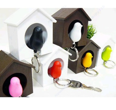 Sparrow Whistle Keychain