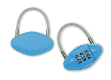 Pill Shaped Luggage Lock 3