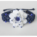 Lotus weaving ceramic bracelet