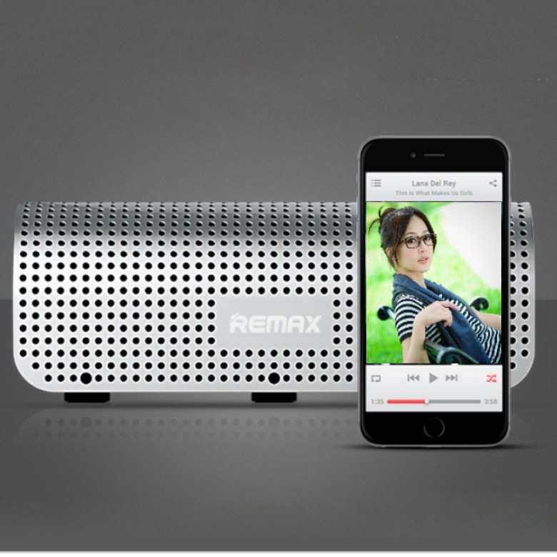 REMAX Bluetooth/NFC Speaker with PowerBank(8000mAh)
