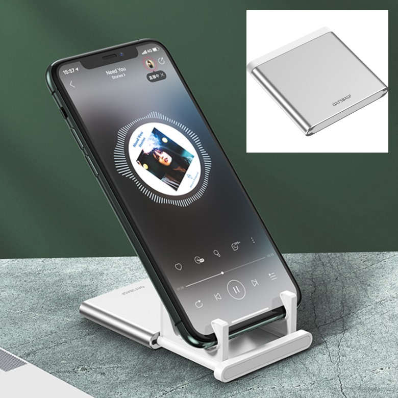 Mini Retractable Aluminium Phone Stand