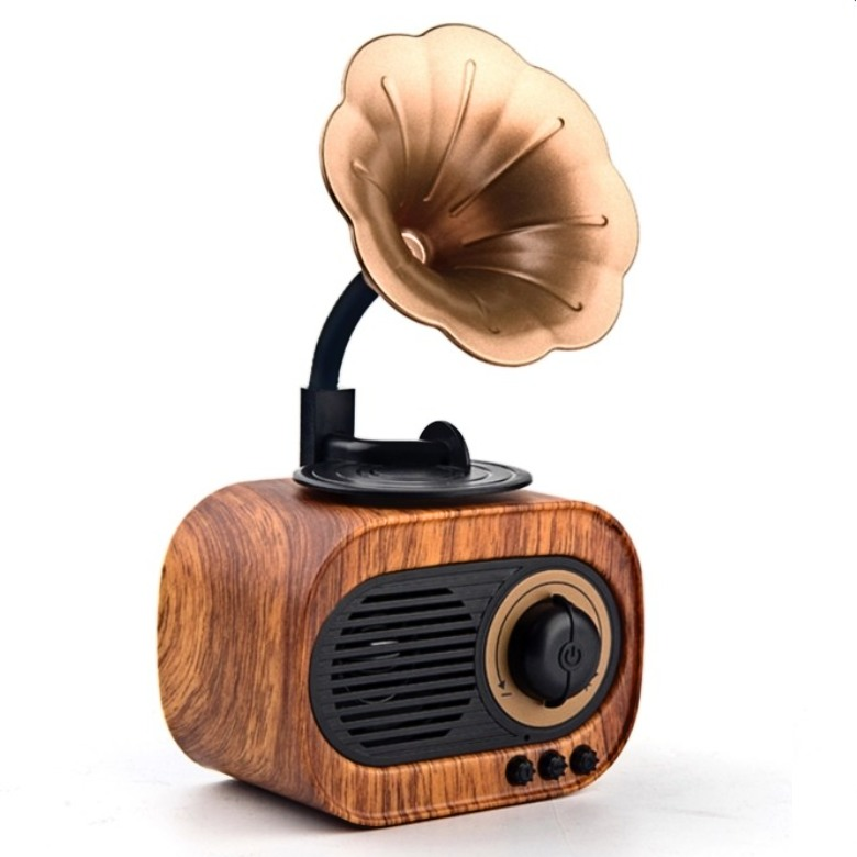 Retro Gramophone Bluetooth Speaker