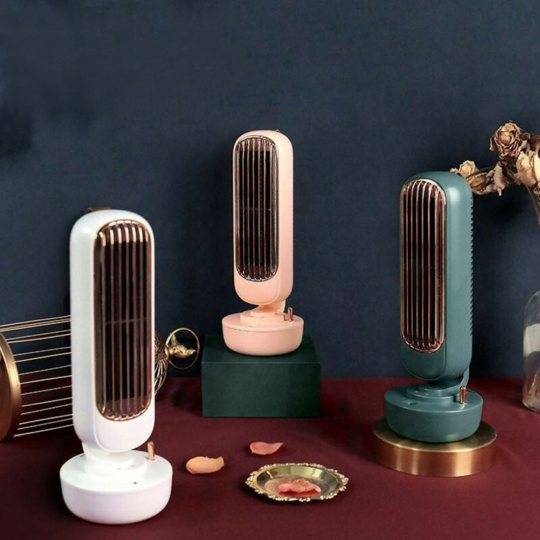 Retro Tower Fan cum Humidifier