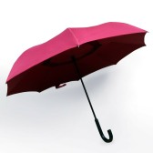 Reversible Umbrella with J Handle