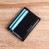 RFID Blocking Sheep Leather Card Holder