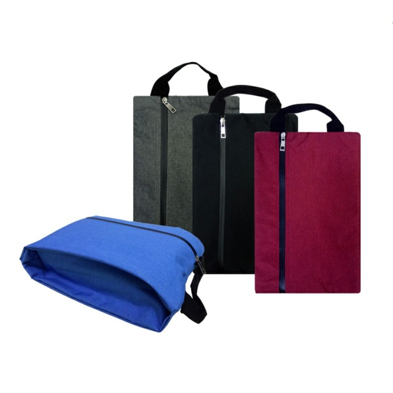 Shoe Bag with Front Zip