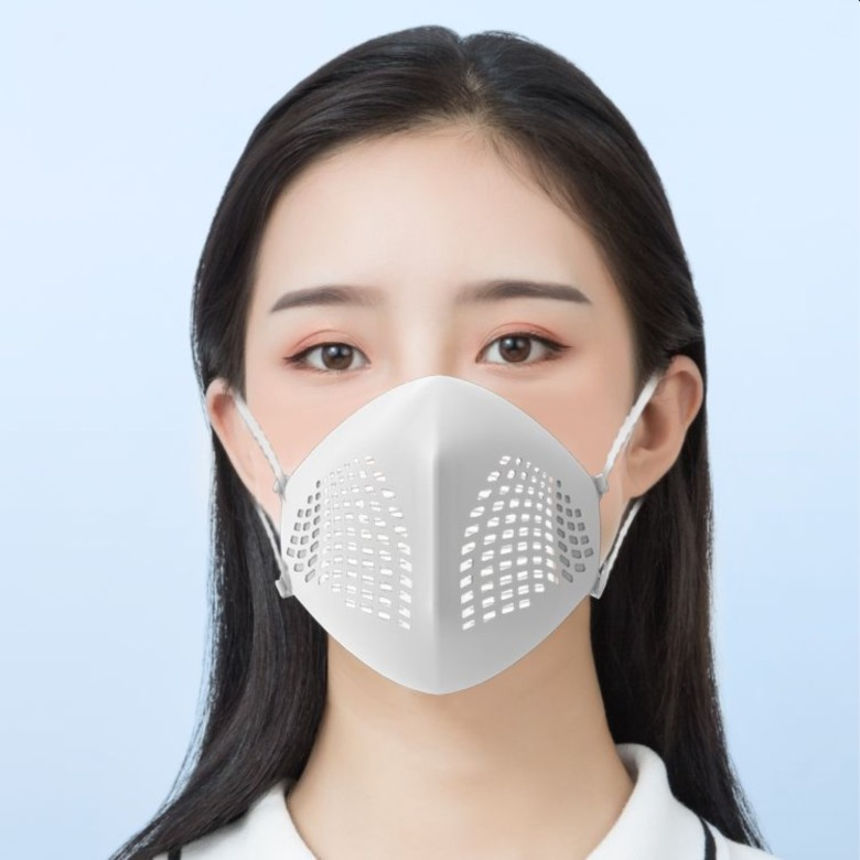 Washable Silicone Mask with replacable HEPA filters