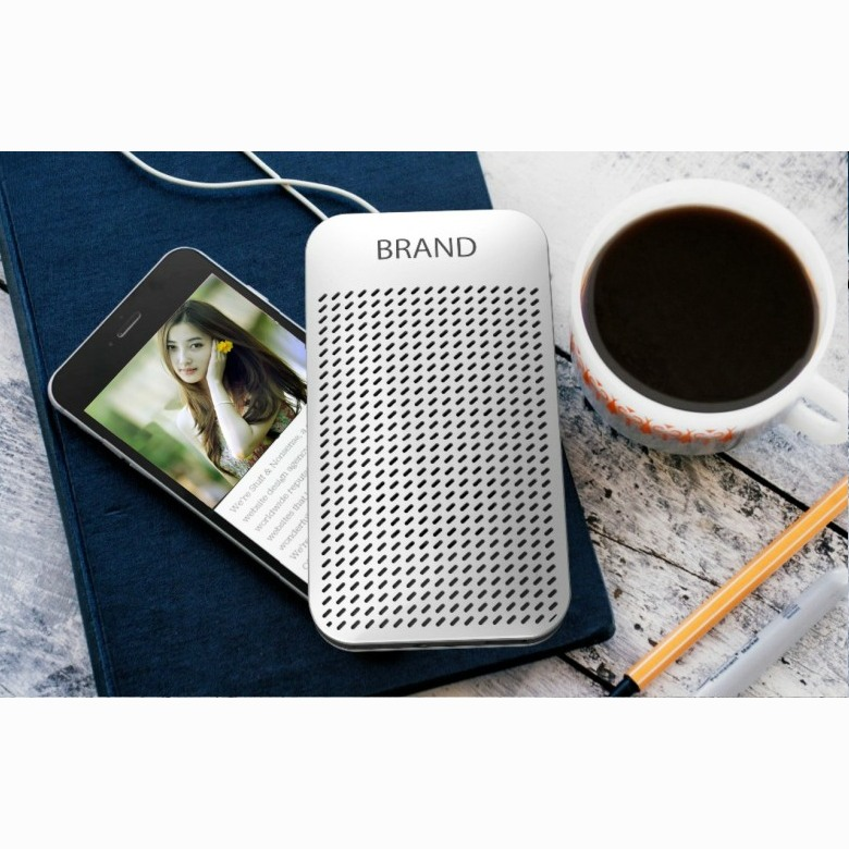 Slim Powerbank cum Bluetooth Speaker [5000mAh]