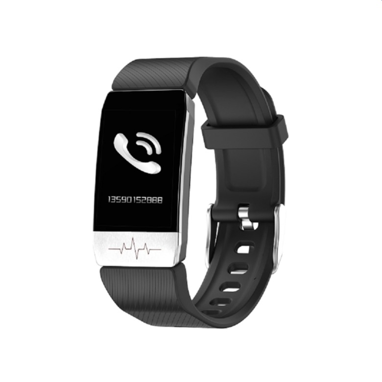Smart Bracelet with Thermometer, Blood Oxygen, Heat Rate Monitor