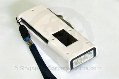 Designer Solar Torch Light with knife , emergency light and mone