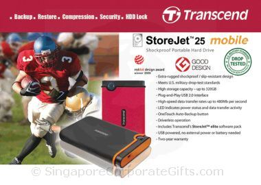 Shock proof Portable Hard Drives (320GB)