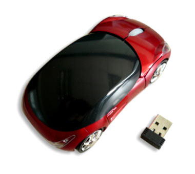 F1 Sports Car Wireless Mouse 1