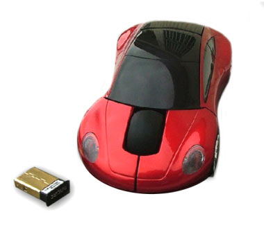 F1 Sports Car Wireless Mouse 5