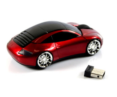 F1 Sports Car Wireless Mouse 3