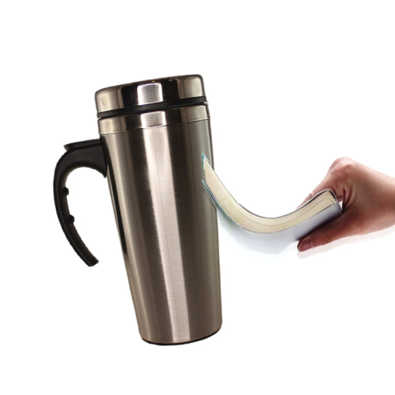 Stainless Steel Suction Mug [400ml]