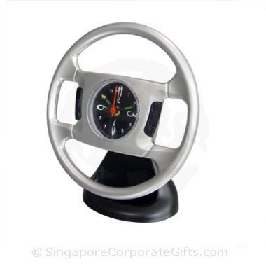 Steering Wheel Desktop Alarm Clock