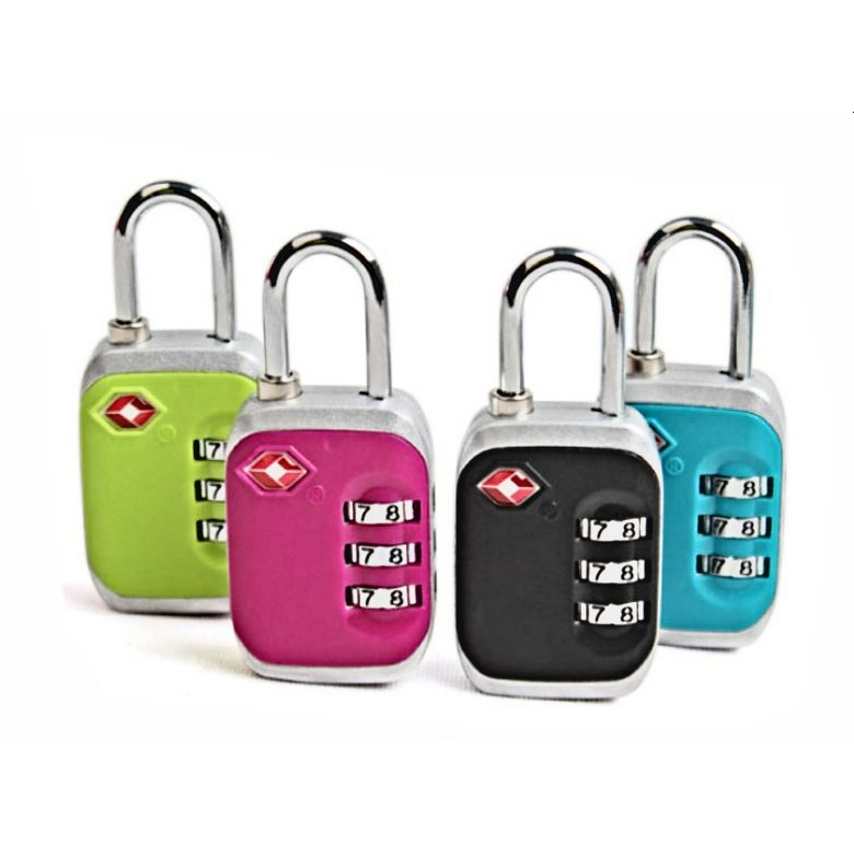 13328 Two Tones 3-dial combo luggage TSA lock