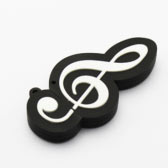 Treble Clef Shaped Thumbdrive (Trek UDP 4G)